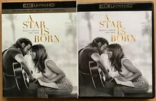 A STAR IS BORN 4K ULTRA HD BLU RAY 2 DISC SET + SLIPCOVER SLEEVE FREE SHIPPING