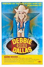 "Debbie Does Dallas Movie Poster  Replica 13x19"" Photo Print"