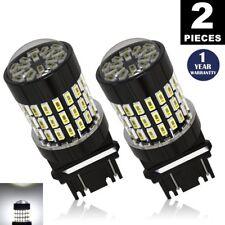 LUYED 2 X 900 Lumens 12-24v White color 3056 3156 3057 3157 LED Bulbs