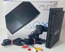 Sony PlayStation 2 Slim | Schwarz | Konsole | PS2 | gebraucht in OVP