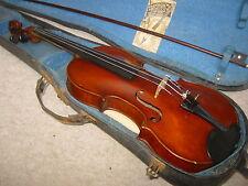 "Nice old violin, high arched! ""Joseph Kloz"", nicely flamed 1part back!!"