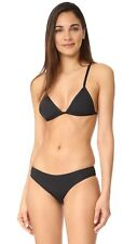 Madewell X Tavik Collaboration black Ali Bikini Bottom Swim $72 Large 1411