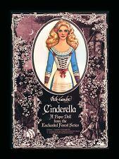 Vintage Cinderella Paper Dolls Peck-Gandre Enchanted Series 1987 New Sealed!