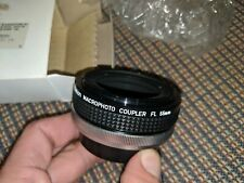 Canon Macro-Photo Coupler FL 55mm adapter NEW IN BOX NEVER USED VINTAGE
