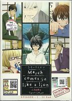 MARCH COMES IN LIKE A LION - COMPLETE ANIME TV SERIES DVD BOX SET (1-22 EPIS)