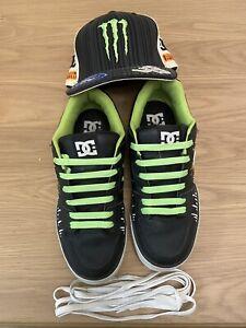 DC Shoes - Ken Block 43 - Matching Sneaker and Monster Energy Hat Bundle