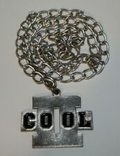 """Official 2000 WWF Wrestling """"II Cool / Too Cool"""" Pendant Chain Necklace (RARE)"""