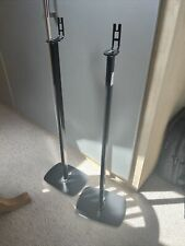 Pair of Flexson Sonos One play:1 speaker stands in black - Brand New