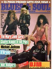 The Mary Jane Girls Blues & Soul 382 1983  Nile Rodgers  Michael Jackson O'Bryan