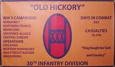 30Th Infantry Division Ww Ii 3'X5' 2Pl Polyester 1-Sided Indoor 4 Grommet Flag