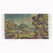 Maison de poupées miniature petit tapisserie - Campagne (tapxsr02)