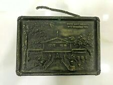 Nautical Vintage Marine Brass Ship Salvage Small Name Plate 100% Original