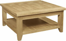 Less than 60cm Square Traditional Coffee Tables with Shelves