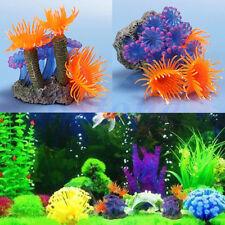 Colorful Soft Artificial Resin Coral Fish Tank Aquarium Underwater Decoration