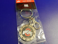 Ohio State Impact Keyring w/Lobster Clasp and OSU Medallion
