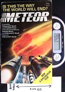 Meteor - PB 1st Ed by Edmund H North & Franklin Coen