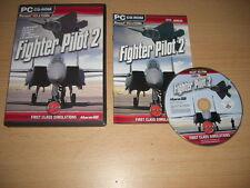 FIGHTER PILOT 2 Pc Cd Rom Add-On Flight Simulator 2004 & X FS2004 FSX