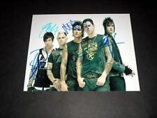 """AVENGED SEVENFOLD PP SIGNED 10""""X8"""" PHOTO REPRO"""