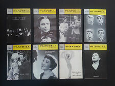 8 Vintage Original Playbills from Broadway theatre productions 1960-65 INV1922