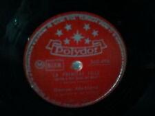 "georges brassens""une jolie fleur.12eime .78 tours 1954 or.polydor:560496.neuf."