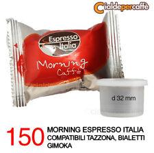 150 capsule caffè Espresso Italia Morning compatibile Mokona Bialetti Gimoka