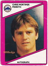 1988 SCANLENS RUGBY LEAGUE #105: CHRIS MORTIMER-PENRITH PANTHERS/BULLDOGS/TEST A