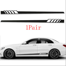 Racing Car Both Side Body Sports Long Stripe Decals Graphics Vinyl Car Stickers