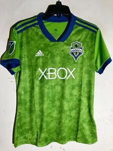 Adidas Women's MLS Jersey Seattle Sounders Team Green sz L