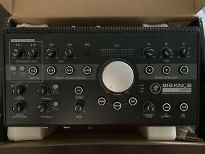 Mackie Big Knob Studio Plus Controller Interface Open Box