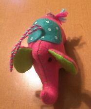 "Target Tiny Hanging Pink Elephant Plush 5"""