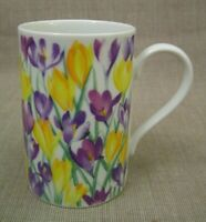 Dunoon Scotland Floral Coffee Mug Cup Primavera by Helen Sandiford Mint Unused!