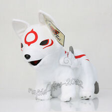 Okami Chibiterasu Plush Toy Stuffed Soft Figure Toy 12 inch Best Xams Gift