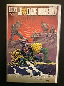 Judge Dredd 11 Cover B High Grade IDW Comic Book CL98-20