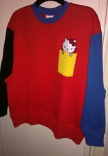 BNWT - ASOS X HELLO KITTY - Oversized Colour Block Sweater Jumper - UK size 6