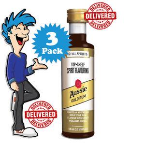 Aussie Gold Rum Spirit Essence x 3 @ $33.99 By Still Spirits Top Shelf