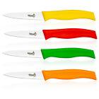 Slitzer 4pc Stainless Steel Paring Kitchen Knife Set