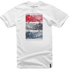 ALPINESTARS Burnt T shirt White  - 1017-72026
