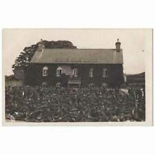 More details for talybont soldiers resting at black lion hotel, cardiganshire rp postcard unused