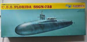 Dragon 1/350 USS Florida SSGN 728 Ohio Class Submarine Model