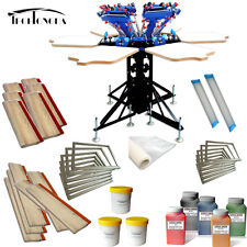 6 color Print Materials Package Screen Pritning Kit Printer & Pallet Making Tool