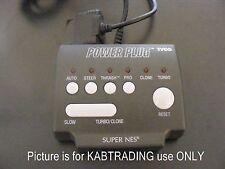 Tyco Power Plug Super Nintendo SNES  turbo / slow mode adapter