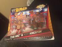 WWE Rumblers The Miz And Kofi Kingston Figure 2-Pack