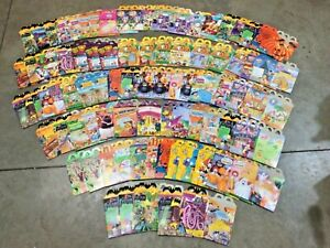 HUGE McDonalds Happy Meal box lot! Over 80 boxes! FREE shipping!
