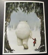 "DAN MAY Giclee Print HOPELESS WANDERER Gentle Creatures 8X10"" poster art"