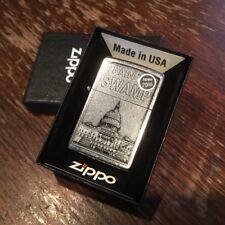 Zippo 207 DRAIN THE SWAMP *RARE* Donald Trump Washington DC Republican Lighter