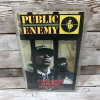 """Public Enemy """"It Takes A Nation Of Millions To Hold Us Back"""" VTG Cassette Tape"""