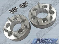 """2pcs Universal 1.5"""" (38mm) Wheel Adapters Spacers 5x114.3 to 5x114.3 Stud 12x1.5"""