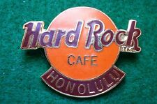 HRC Hard Rock Cafe Honolulu Logo Orange XL Fotos