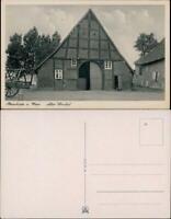 Ansichtskarte Steinhude-Wunstorf Alter Winkel - Bauernhaus 1934