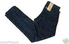 $68 Mens LEVIS Slim Dress Print CHINO Pants 30 x 30 Navy Blue map water